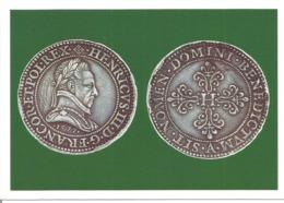 """CPM Monnaie """" PIEFORT à L'effigie D'HENRI III """" - Monnaies (représentations)"""