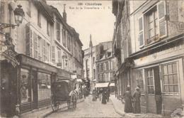 CPA Chartres Rue De La Tonnellerie 28 Eure Et Loir - Chartres