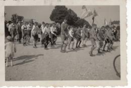 Umzug Veranstaltung Berlin - Ca 1950 - Fahne Mit DJV FDJ - Fotografie