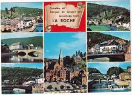 Groeten Uit Bonjour De Grusse Aus Greetings From La Roche - La-Roche-en-Ardenne