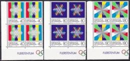 Liechtenstein/1983 - Olympic Winter Games/Olympische Winterspiele - Block Set - MNH - Liechtenstein