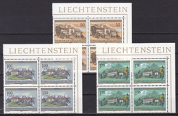 Liechtenstein/1985 - Monasteries/Orden Und Klöster - Block Set - MNH - Liechtenstein