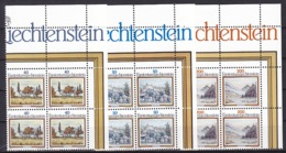 Liechtensrein/1983 - Anton Ender - Block Set - MNH - Liechtenstein
