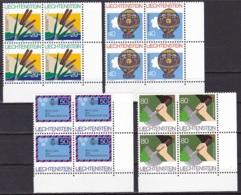 Liechtenstein/1983 - Events & Anniversaries/Internationale Aktionen Und Gedenkjahre - Block Set - MNH - Liechtenstein