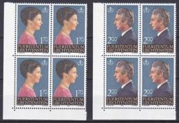 Liechtenstein/1984 - Princess Marie & Prince Hans Adam/Freimarken - Block Set - MNH - Liechtenstein