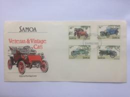 Samoa 1985 Vintage Cars FDC - Samoa
