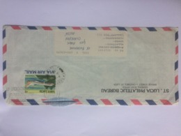 ST. LUCIA 1983 Air Mail Cover To England - St.Lucia (1979-...)