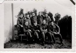 Foto 2. WK - Gruppenfoto Soldaten - Foto Carl Forster Geisenfeld 137 - Fotografie