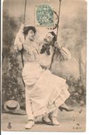 L60A361 - Couple  Sur Une Balançoire - CLC - Coppie