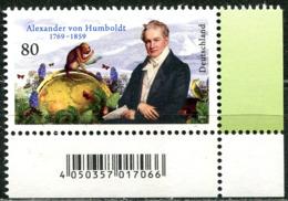 BRD - 3492 ECKE REU - ** Postfrisch (E) - 80C       Alexander Humboldt - Ausgabe 05.09.2019 - [7] République Fédérale