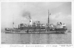 S.S. CHANTILLY NAVIRE-HOPITAL 1946- MESSAEGRIES MARITIMES - Piroscafi