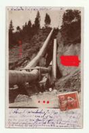 Saint-Gervais-les-Bains LE FAYET Catastrophe Du Mardi 22 Juin 1909 Rupture Conduite Eaux Forcées G Ducloz LIRE  TEXTE - Saint-Gervais-les-Bains