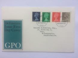 GB 1968 Pre-Decimal Machin FDC - 1952-.... (Elizabeth II)
