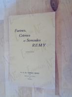 Brochure Publicitaire Pour Les Farines, Crèmes, Semoules Remy De Wygmael - Chromolithographies Couleurs - 1935 - Publicidad
