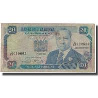 Billet, Kenya, 20 Shillings, 1990-07-01, KM:25a, B - Kenia