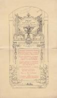 Menu Offert à Auguste Raulin En 1900 Au Palais D'orsay - Menükarten