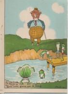 BARRE-DAYEZ  N° 1430F  La Grenouille Qui Veut Se Faire Aussi Grosse Que Le Boeuf - Autres Illustrateurs