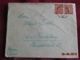 Lettre De 1946 à Destination De Heidelberg - Gemeinschaftsausgaben