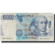Billet, Italie, 10,000 Lire, KM:112a, TB - 10000 Lire