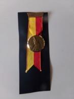 """Suisse Médaille En Bronze Avec Ruban """" Marche De La Sarine 1971, Ecuvillens-Posieux  """" Les Costumes Nationaux Genève - Tokens & Medals"""