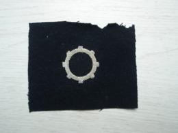 Attribut Sur Tissu De La  Police à Identifier - Scudetti In Tela