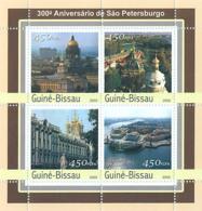 Guinea - Bissau 2003 - 300th Anniversary Of St. Petersburg 4v. Y&T 1082-1085, Michel 2112-2115 - Guinea-Bissau