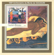 Guinea - Bissau 2003 - 150th Anniversary De Gauduin S/s. Y&T 145, Michel 2110 BL391 - Guinea-Bissau