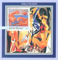 Guinea - Bissau 2003 - Nudes Of Picasso S/s. Y&T 149, Michel 2111 BL392 - Guinée-Bissau