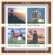 Guinea - Bissau 2003 - Lighthouses 4v. Y&T 1122-1125, Michel 2068-2071 - Guinea-Bissau
