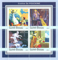 Guinea - Bissau 2003 - Thales Of Pushkine 4v. Y&T 1154-1157, Michel 2132-2135 - Guinea-Bissau