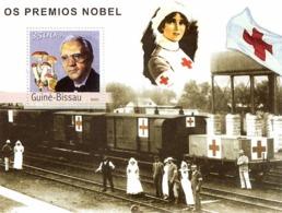 Guinea - Bissau 2003 - Prix Nobel S/s. Y&T 158, Michel 2181 BL398 - Guinea-Bissau