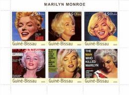 Guinea - Bissau 2003 - Marilyn Monroe 6v. Y&T 1234-1239, Michel 2253-2258 - Guinea-Bissau
