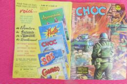 CHOC N°34 MENSUEL (Année 1962) **** BHR 023X - Magazines