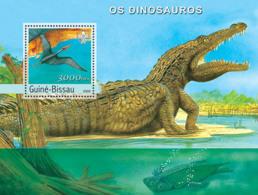 Guinea - Bissau 2003 - Dinosaurs S/s. Y&T 184, Michel 2502 BL431 - Guinea-Bissau