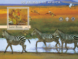 Guinea - Bissau 2003 - Animals Of Africa S/s. Y&T 185, Michel 2450 BL427 - Guinea-Bissau