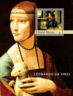 Guinea - Bissau 2003 - Paintings Of Leonardo Da Vinci S/s. Y&T 187 - Guinea-Bissau