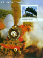 Guinea - Bissau 2003 - Trains S/s, Y&T 195, Michel 2656/BL447 - Guinea-Bissau