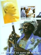 Guinea - Bissau 2003 - Pope's Travels In Africa S/s, Y&T 202, Michel 2629/BL444 - Guinea-Bissau