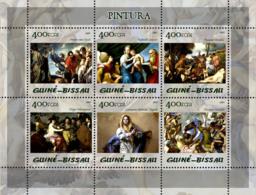 Guinea - Bissau 2005 - Paintings (Museum Prado) 6v, Y&T 1792-1797, Michel 2838-2843 - Guinea-Bissau