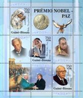 Guinea - Bissau 2005 - Nobel Prize Winners - Peace-Mother Teresa, M.L. King 3v, Y&T 2004-2006, Michel 3183-3185 - Guinea-Bissau