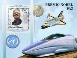 "Guinea - Bissau 2005 - Nobel Prize Winners - Peace-J.Carter, ""bullet-train"" Space S/s, Y&T 274, Michel 3193/BL532 - Guinée-Bissau"