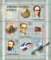 Guinea - Bissau 2005 - Nobel Prize Winners -Physics-W.C.Roentgen, W.Schocklev 3v, Y&T 2010-2012, Michel 3174-3176 - Guinée-Bissau