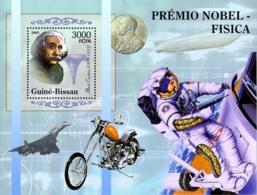 Guinea - Bissau 2005 - Nobel Prize Winners -Physics-A.Einstein, Space, Concorde S/s, Y&T 276, Michel 3191/BL530 - Guinée-Bissau