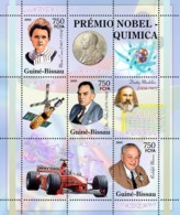 Guinea - Bissau 2005 - Nobel Prize Winners -Chemistry-Marie Curie, O Hahn, R Marcus 3v, Y&T 2013-2015, Michel 3177-3179 - Guinée-Bissau