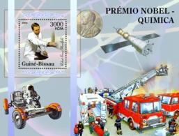 Guinea - Bissau 2005 - Nobel Prize Winners -Chemistry-R B Merifield, Space, Fire Engines S/s, Y&T 277, Michel 3190/BL529 - Guinée-Bissau
