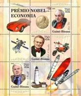 Guinea - Bissau 2005 - Nobel Prize Winners -Economics-R A Mundell, P A Samuelson 3v, Y&T 2016-2018, Michel 3186-3188 - Guinée-Bissau