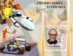 Guinea - Bissau 2005 - Nobel Prize Winners -Economics-L R Klein, Space, Ferrari S/s, Y&T 278, Michel 3194/BL533 - Guinée-Bissau