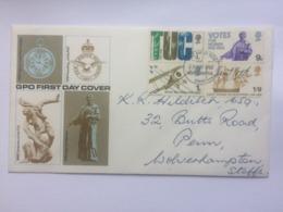GB 1968 Anniversaries TUC FDC - 1952-.... (Elizabeth II)