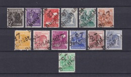Sowjetische Zone - 1948 - Michel Nr. 166/168, 170, 172, 174/181 - Gepr. - 190 Euro - Sowjetische Zone (SBZ)