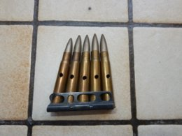 Clips De 5cps  Pour Lee Enfield Ww1 - Armes Neutralisées